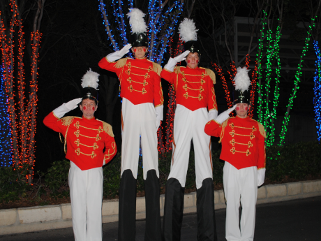 Nutcracker Stilt Walkers
